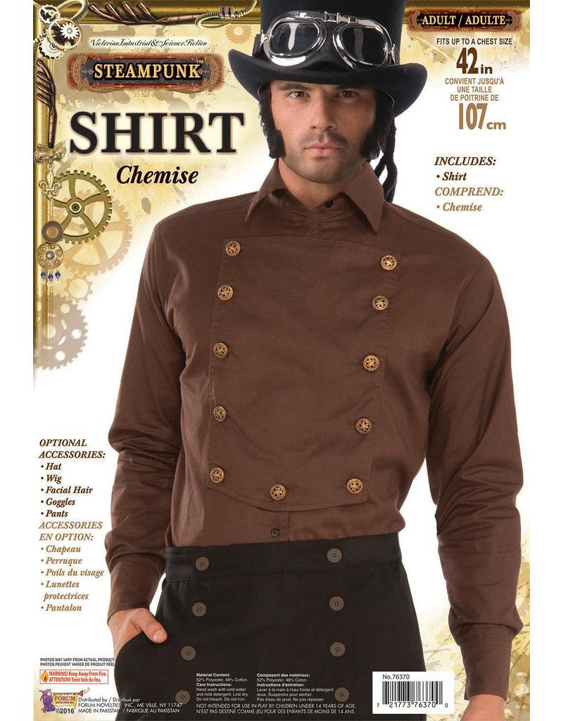 Brown Steampunk Shirt