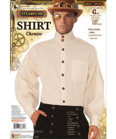 White Steampunk Shirt