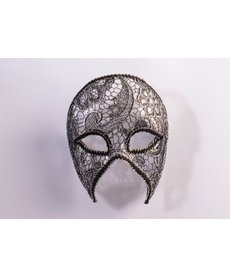 Lacey Half Mask w/ Eyeglasses Arms