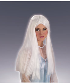 Adult White Long Angel Wig