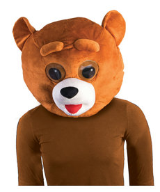 Plush Animal Mascot Head: Bear