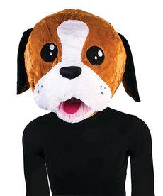Plush Animal Mascot Head: Dog