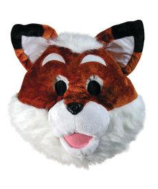 Plush Animal Mascot Head: Fox