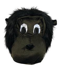 Plush Animal Mascot Head: Gorilla