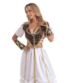 Medieval Lady Vest and Cuff Set