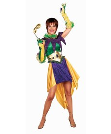 Adult Miss Mardi Gras Costume
