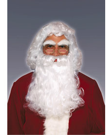 Adult Promotional Santa Wig & Beard