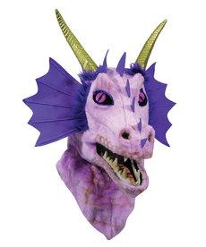 Moving Mouth Purple Dragon  Mask