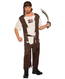 Scurvy Sam Pirate Costume