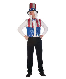 Adult Sequin Uncle Sam Kit