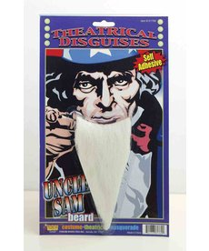 Uncle Sam Beard - White