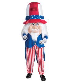 Adult Mascot: Uncle Sam Parade Pleaser - Standard