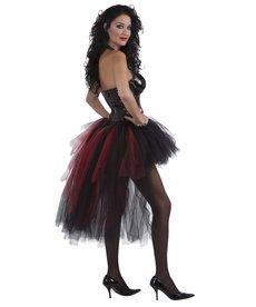 Women's Vampiress Burlesque Tutu: Standard