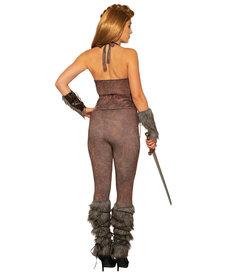Viking Leather Look Leggings
