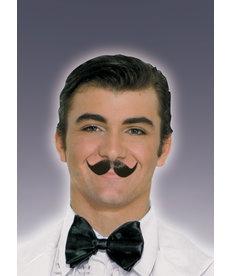 Winged Englishman Moustache - Black
