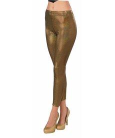 Futuristic Leggings: Gold - STD