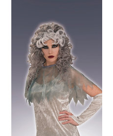 Adult Gray Ghostly Gal Wig