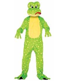 Adult Mascot: Freddy the Frog - Standard