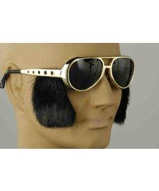 Elvis Glasses w/ SideBurns