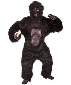 Deluxe Adult Gorilla Mascot Costume w/ Chest