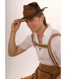 Deluxe Brown Oktoberfest Hat