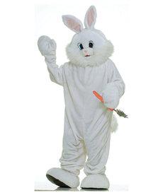 Adult Deluxe Plush Bunny Mascot: Standard