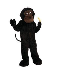Adult Plush Gorilla Costume