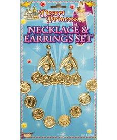 Desert Princess: Necklace & Earrings