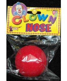 Foam Clown Nose: Red
