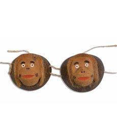 Coconut Monkey Bra