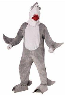 Adult Chomper the Shark Mascot Costume