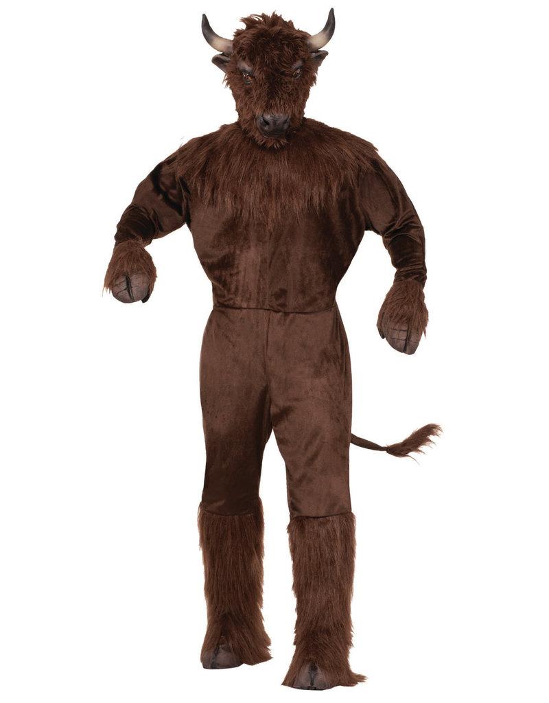 Adult Buffalo Mascot Costume