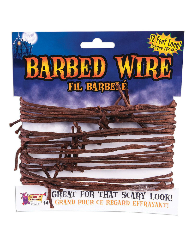 12' Barbed Wire Decoration