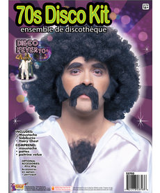 70's Disco Man Kit - Black