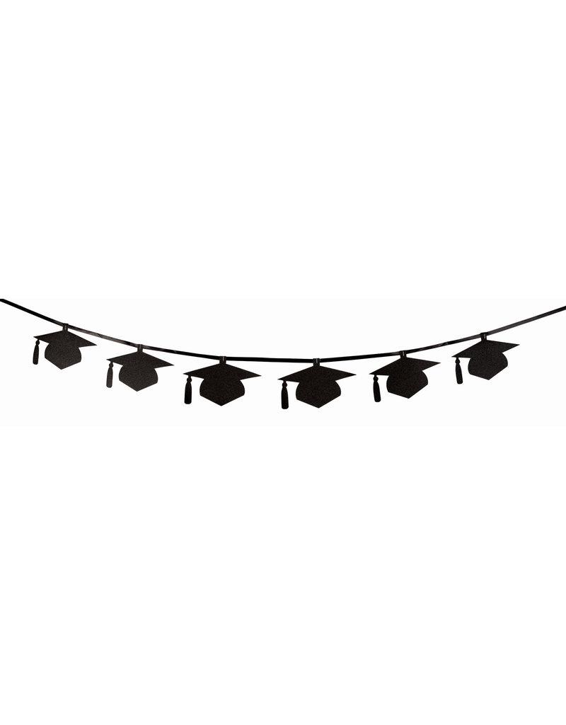 Grad Cap Diamond Banner