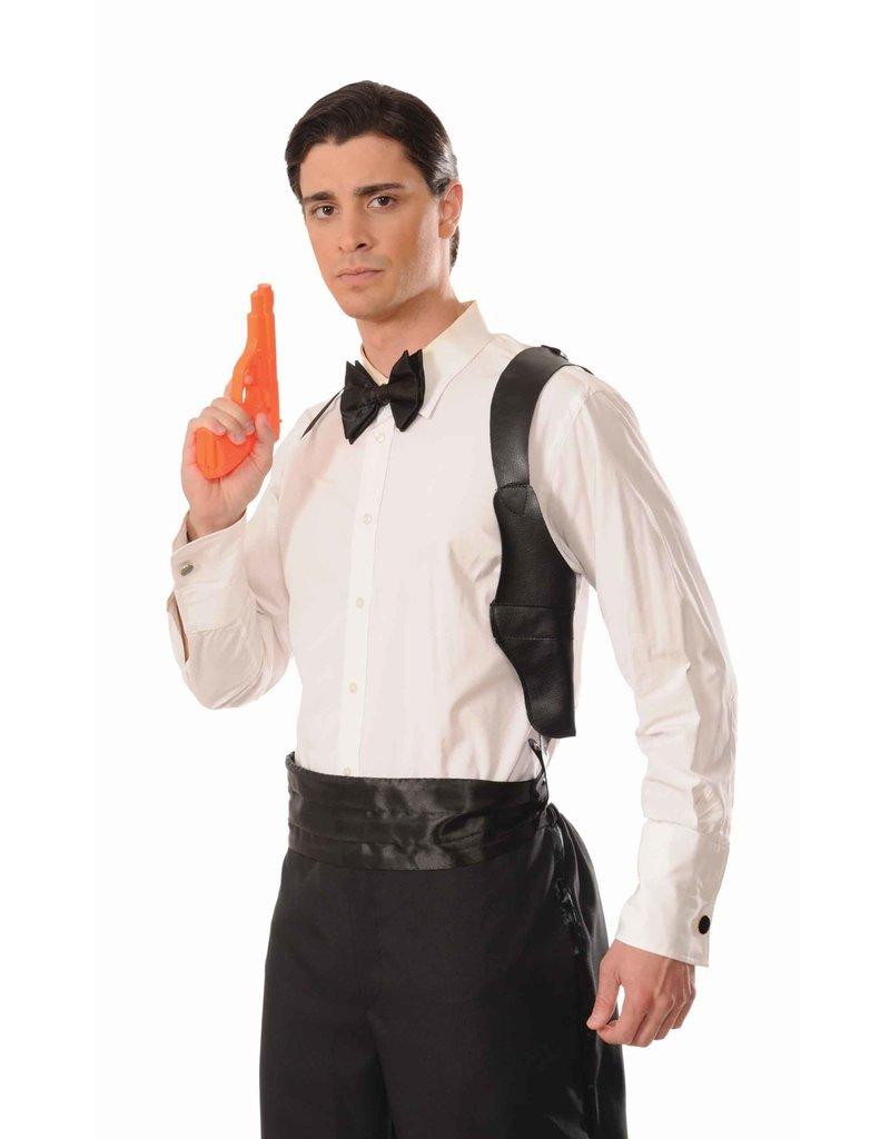 Spy Adjustable Shoulder Holster with Gun