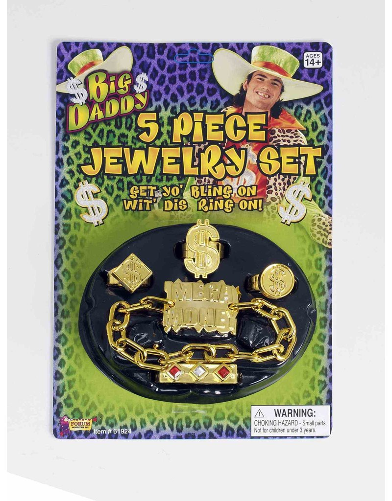 Big Daddy Jewelry Set (5pk.)