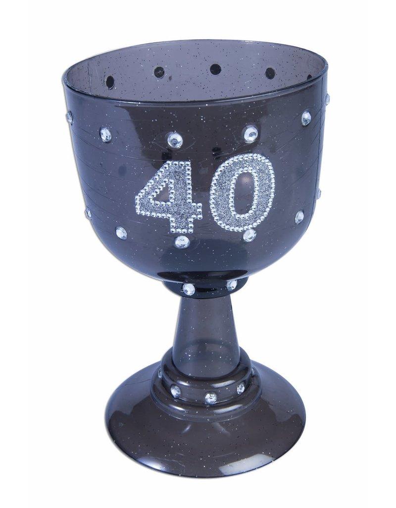 """40"" Chalice - Black"
