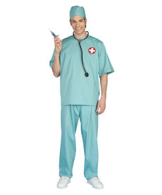 Adult Surgeon Scrubs Costume