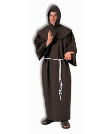 Adult Medieval Deluxe Monk Robe Costume