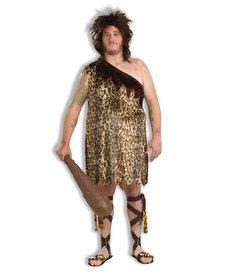 Adult Plus Size Macho Cave Man Costume