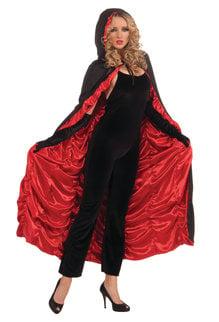 Coffin Cape - Black/Red