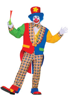 Clown On The Town: Adult Size Costume