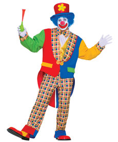 Clown On The Town: Adult Costume