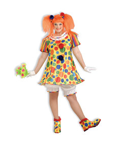 Women's Plus Size Giggles the Clown: XL (16-22)