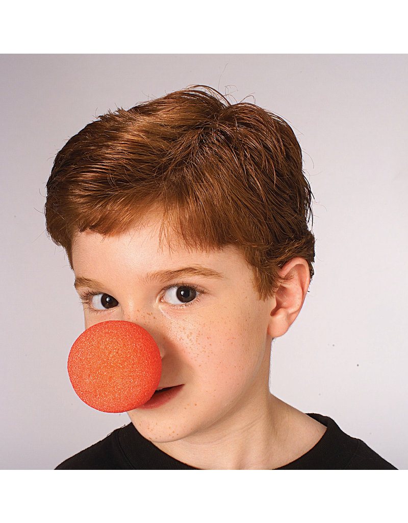 Foam Clown Nose: Red