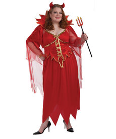 Adult Plus Size Devil Costume