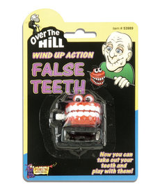 Over the Hill Wind Up False Teeth