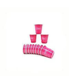 "Solo Cup Shot Glasses ""Birthday Girl"" - Pink (12ct.)"