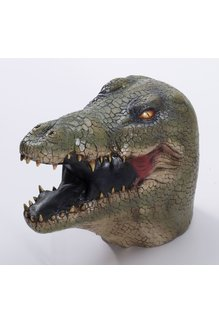 DLX. Latex Animal Mask - Alligator
